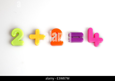 As easy as two plus two - Stock Photo