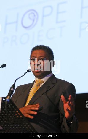 Professor Russel Botman, Rector and Vice Chancellor of the University of Stellenbosch - Stock Photo