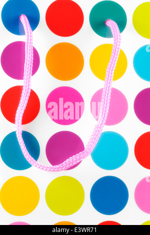Polka dot bright colored circles Stock Photo, Royalty Free ...