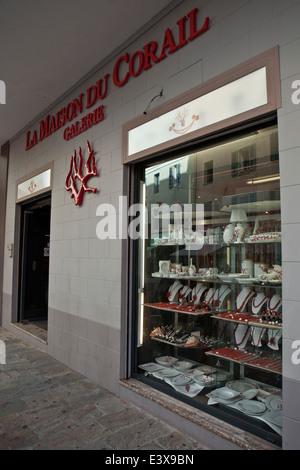 coral shop stock photo royalty free image 82779212 alamy. Black Bedroom Furniture Sets. Home Design Ideas