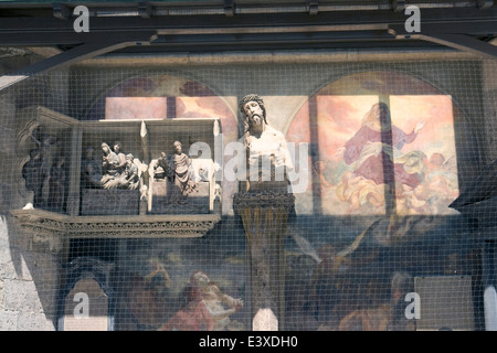 Ecce Homo Statue In Saint Eustache Church Stock Photo 69892755 Alamy