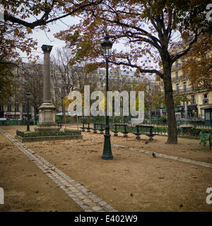 Paris is synonymous with beauty, culture and a distinct style which is seen in its people, shops and buildings - Stock Photo