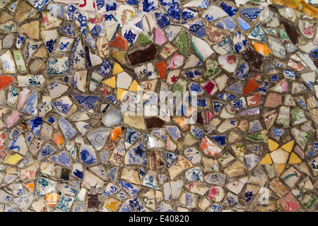 guernsey seashells pebbles colourful pieces - Stock Photo