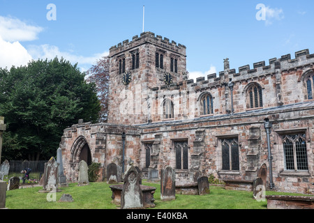 Church of Saint Lawrence, Appleby in Westmorland, Cumbria, UK - Stock Photo