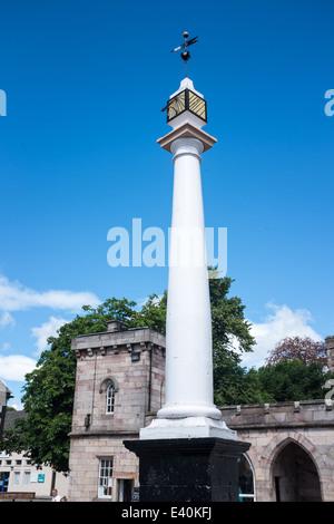 High Cross in Boroughgate, Appleby, Eden Valley, Cumbria, UK - Stock Photo