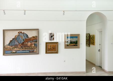 Griechenland, Rhodos-Stadt, Platia Simis, Museum für moderne griechische Kunst - Stock Photo