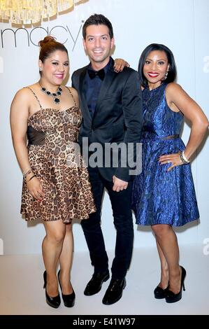 Macy\'s dress department fashion show launch held at the Beverly ...