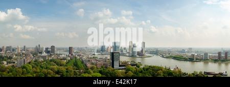 Rotterdam skyline, cityscape, Netherlands - Stock Photo
