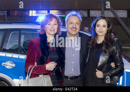Premiere of the movie 'Stubbe - Von Fall zu Fall' at Kristallpalast  Featuring: Heike Trinker,Wolfgang Stumph,Stephanie - Stock Photo