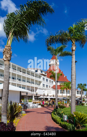 The Hotel del Coronado, Coronado Beach, San Diego, California, USA - Stock Photo