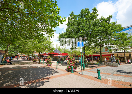 Mell Square Shopping Centre Solihull West Midlands UK - Stock Photo