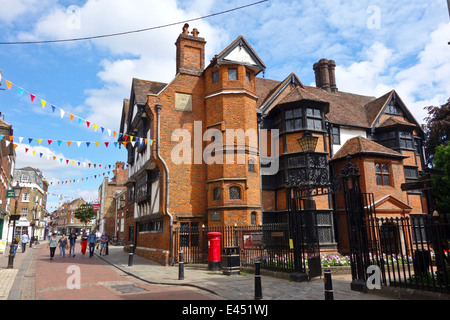 Eastgate House High Street Rochester - Stock Photo