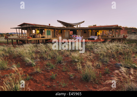 Mountain view suite.Dunes Lodge.Wolwedans NamibRand Nature Reserve, Namibia - Stock Photo