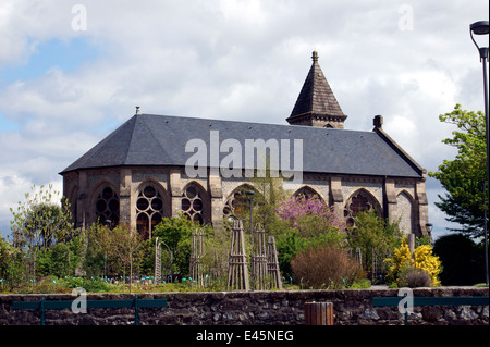 SAINT- ETIENNE CATHEDRAL LIMOGES - Stock Photo