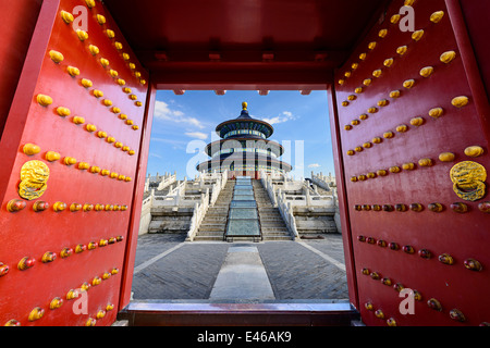 Beijing, China at Temple of Heaven. - Stock Photo