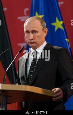 Berlin, Germany, Vladimir Putin, President of the Russian Federation - Stock Photo