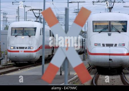 Bahnbetriebswerk Berlin-Rummelsburg - Stock Photo
