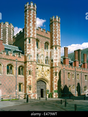 Great Gate of St John's College Cambridge - Stock Photo