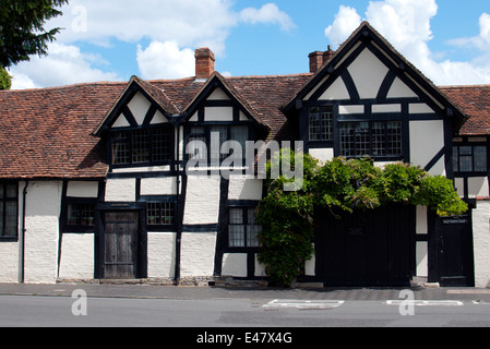 Old Town Croft, a cottage in Old Town, Stratford-upon-Avon, UK - Stock Photo