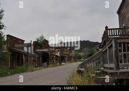 Cloudy Day in the Wild West - Stock Photo