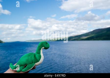 Nessie: The Loch Ness Monster - Stock Photo