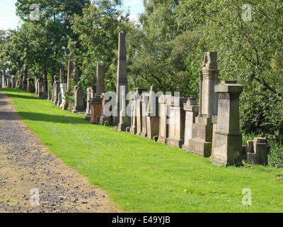 Glasgow necropolis - Stock Photo