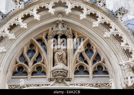 Saint Maurice's church, Lille, Nord, France, Europe - Stock Photo
