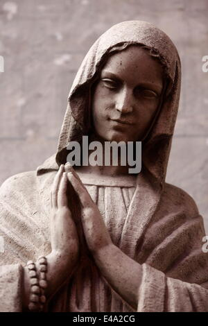 Statue in Saint Maurice's church, Lille, Nord, France, Europe - Stock Photo