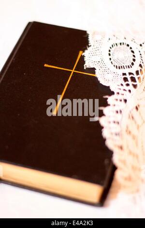 Bible, Cordon, Haute-Savoie, France, Europe - Stock Photo