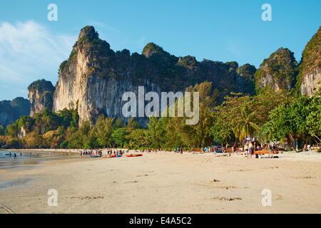 Ao Phra Nang Bay, Railay Beach, Tonsay Beach, Krabi Province, Thailand, Southeast Asia, Asia - Stock Photo