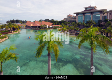 South East Asia, Kingdom of Brunei, Empire Hotel and Country Club - Stock Photo