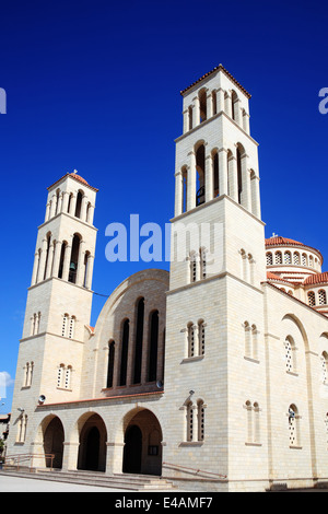 Agioi Anargyroi Church is a Greek Orthodox church in Paphos, Cyprus - Stock Photo