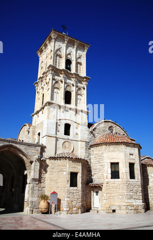 Agios Lazaros Church, Larnaca, Cyprus is a Byzantine church built by Emperor Leo VI in the  9th century. - Stock Photo