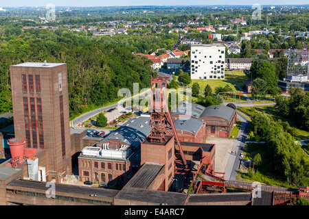 UNESCO world heritage site, Zeche Zollverein, Essen, Germany. Formerly the biggest coal mine in the world. - Stock Photo