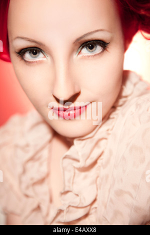 Beautiful, elegant woman - Stock Photo