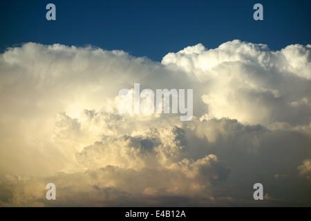 A towering Cumulonimbus cloud - Stock Photo