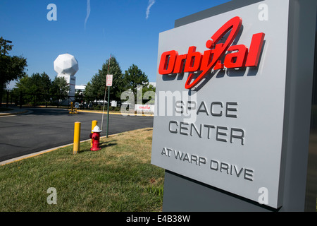 The headquarters of Orbital Sciences Corporation.  - Stock Photo