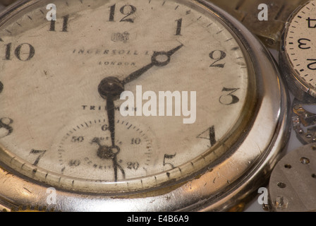 Pocket watches - Stock Photo