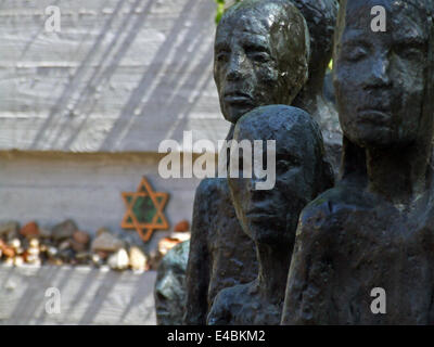 jewish graveyard Germany Berlin - Stock Photo