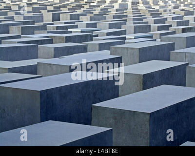 Holocaust Memorial Germany Berlin - Stock Photo