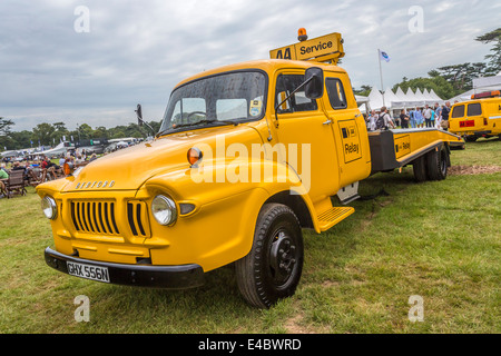 1974 Bedford J3 AA recovery truck. 2014 Goodwood Festival of Speed, Sussex, UK - Stock Photo