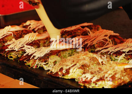 Japanese food cooking - Stock Photo