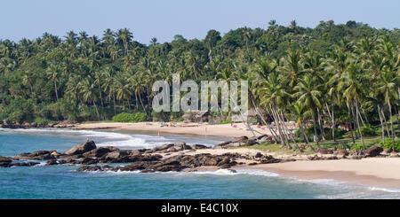 Goyambokka Beach, Tangalle, Sri Lanka - Stock Photo