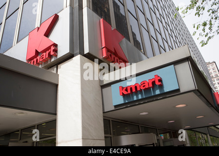 A Kmart store is pictured in the New York City borough of Manhattan - Stock Photo