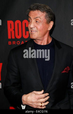 Actor Sylvester Stallone attends the 'Rocky' Broadway opening night after party at Roseland Ballroom on March 13, - Stock Photo