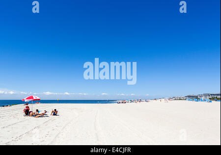 The beach at Cape May, New Jersey, USA - Stock Photo