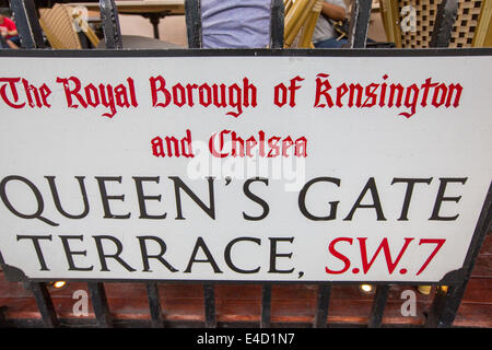 Queen 39 s gate street sw7 in the royal borough of kensington for The terrace address
