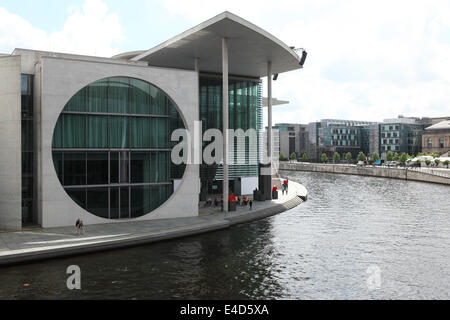 The Marie Elisabeth Lueders Haus, part of the Bundestag in Berlin, Germany. - Stock Photo