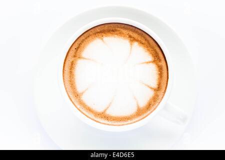how to make latte microfoam