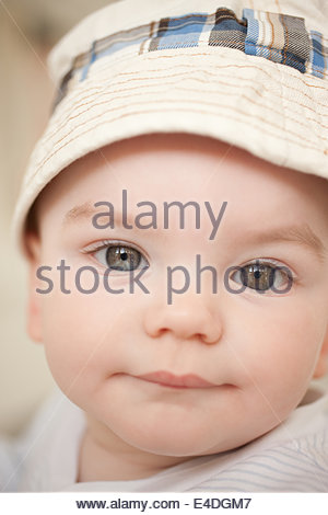 Close up of baby - Stock Photo